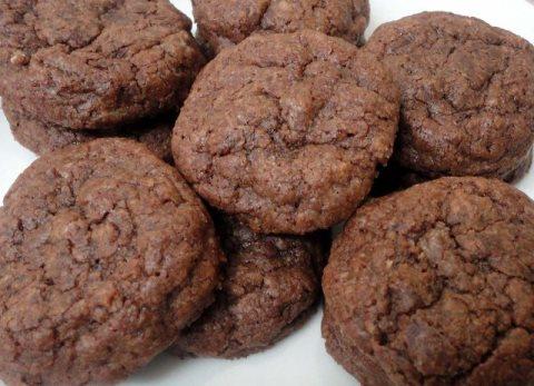 Receta de cookies con nutella