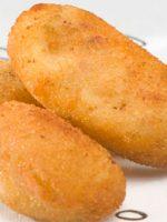 Receta de croquetas de pollo y huevo