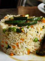 Receta de ensalada de arroz con caballa
