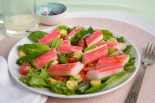 Receta de ensalada de garbanzos con surimi