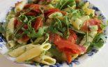 Receta de ensalada de pasta con salmón
