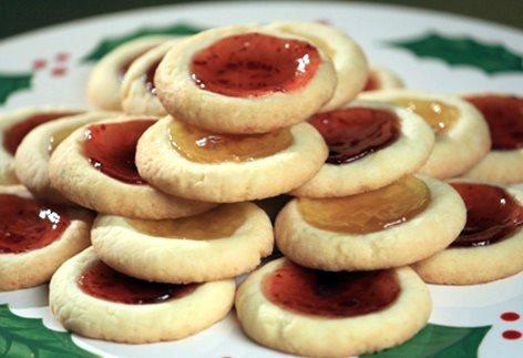 Receta de galletas de mantequilla con mermelada