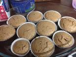 Receta de magdalenas de chocolate sin huevo