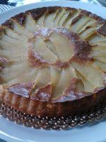 Receta de tarta de manzana y avena
