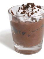 Receta de mousse de chocolate microondas