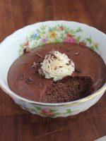 Receta de mousse de chocolate sin huevo