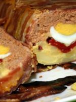 Receta de pastel de carne y tortilla