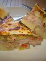 Receta de pastel de carne y verdura