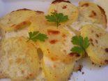 Receta de patatas a lo pobre con nata