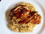 Receta de pollo al horno con arroz