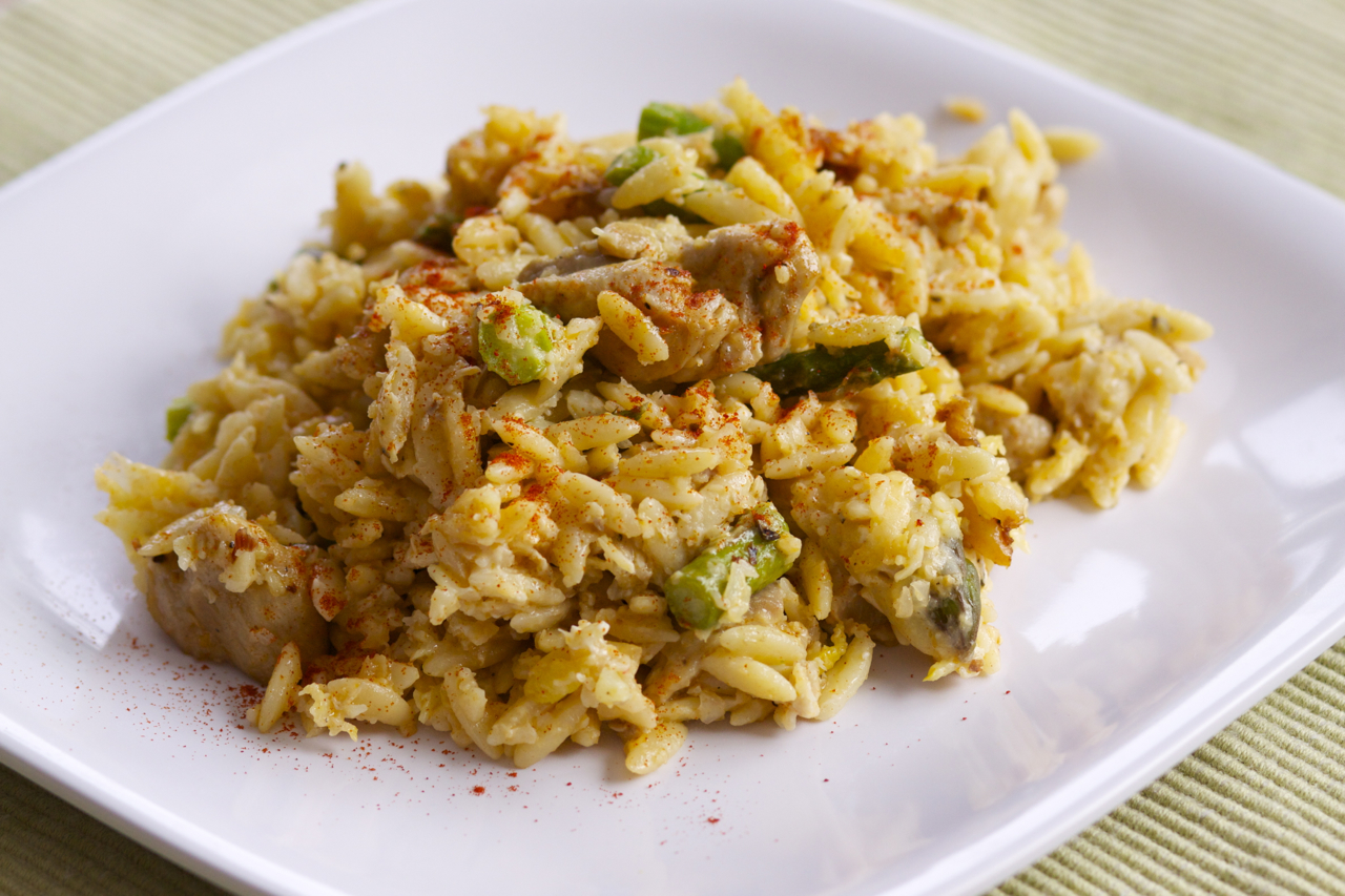 Receta de risotto de pollo for Como cocinar risotto de setas