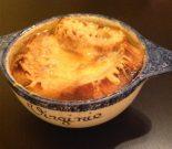 Receta de sopa de cebolla con queso
