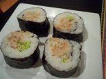Receta de sushi de atún