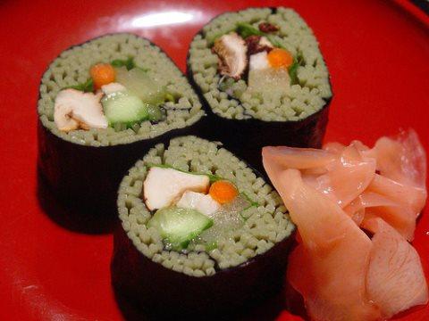 Receta de sushi de fideos
