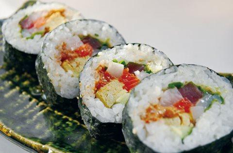 Receta de sushi futomaki