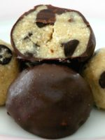 Receta de trufas de chocolate con galletas