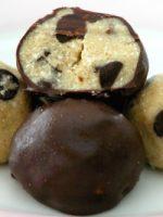 Trufas de chocolate con galletas