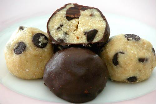 Receta de trufas de chocolate con galletas