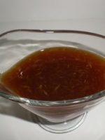 Receta de vinagreta con naranja