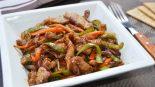 Receta de wok de ternera