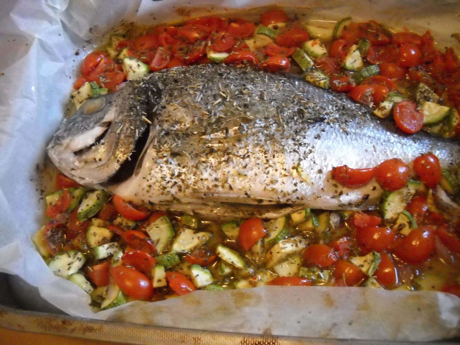 Receta de dorada al horno con verduras - Recetas de bogavante al horno ...