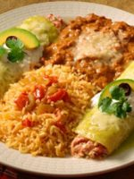 Receta de enchiladas de arroz