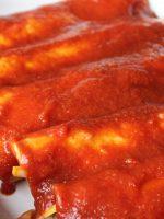 Receta de enchiladas rojas
