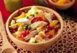 Receta de ensalada de arroz con pollo