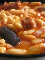 Receta de fabada asturiana con chorizo