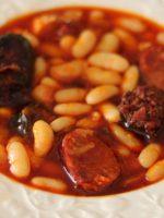 Receta de fabada asturiana thermomix