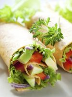 Receta de fajitas de verduras