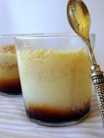 Receta de flan de queso con leche merengada