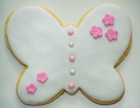Receta de galletas de mantequilla con fondant