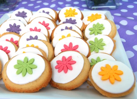 Receta de galletas de mantequilla decoradas