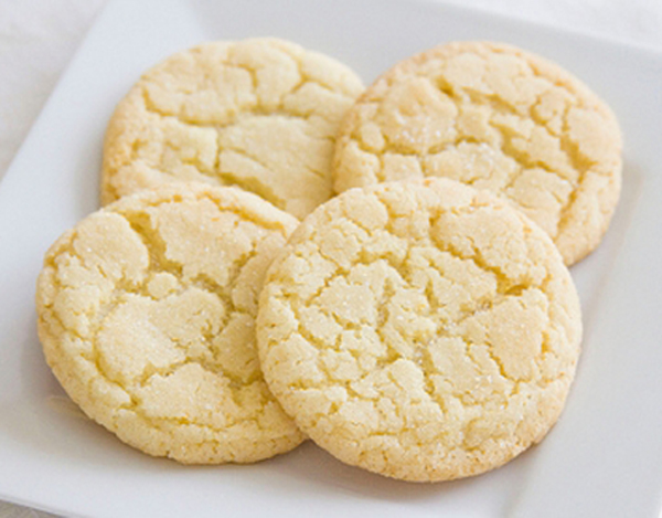 Receta de galletas de mantequilla light