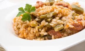 Receta de judías verdes con arroz