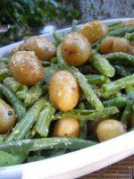 Receta de judías verdes con patatas