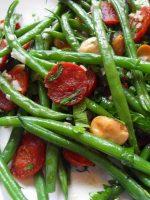 Receta de judías verdes con chorizo