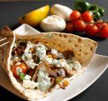 Receta de kebab con queso