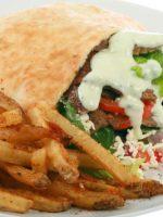 Kebab de cordero