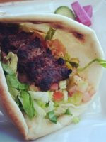 Kebab de ternera
