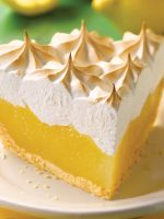 Receta de lemon pie con merengue