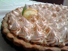 Receta de lemon pie con vainilla