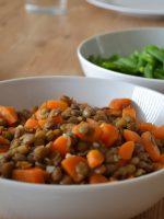Receta de lentejas con chorizo y verduras