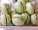 Receta de macarons de pistacho