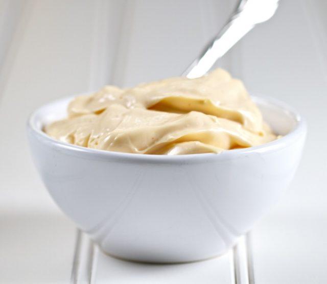Receta de mayonesa de soja