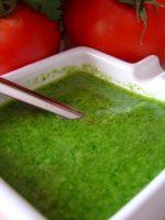 Receta de mojo picón verde