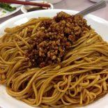 Receta de noodles con carne picada