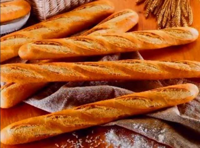Receta de pan casero baguette