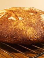 Receta de pan casero con masa madre